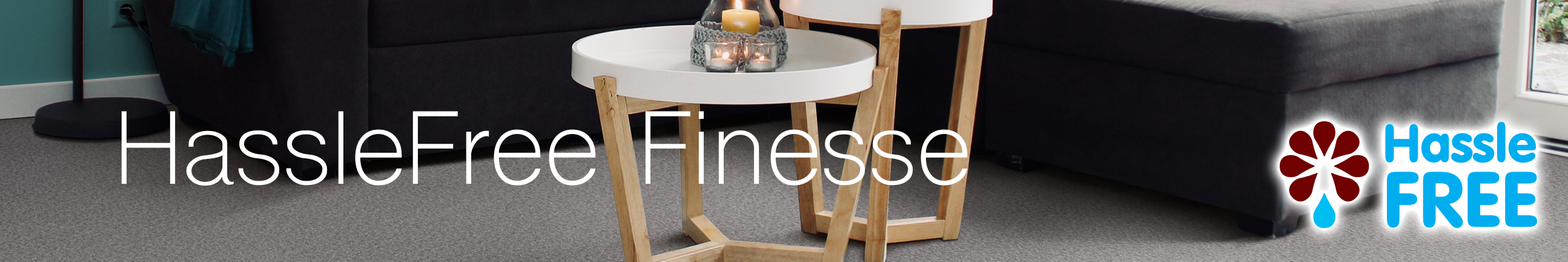 HassleFree Finesse Carpet Header