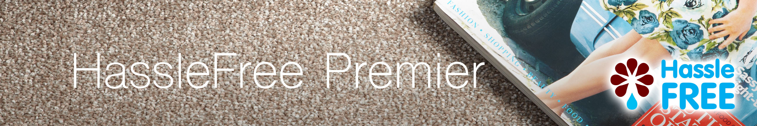 HassleFree Premier Carpet Header