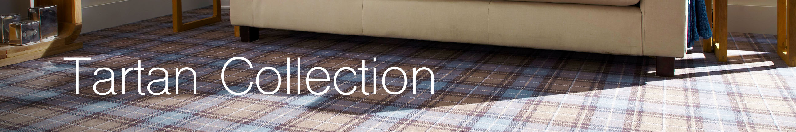 Tartan Collection Axminster Carpet Header