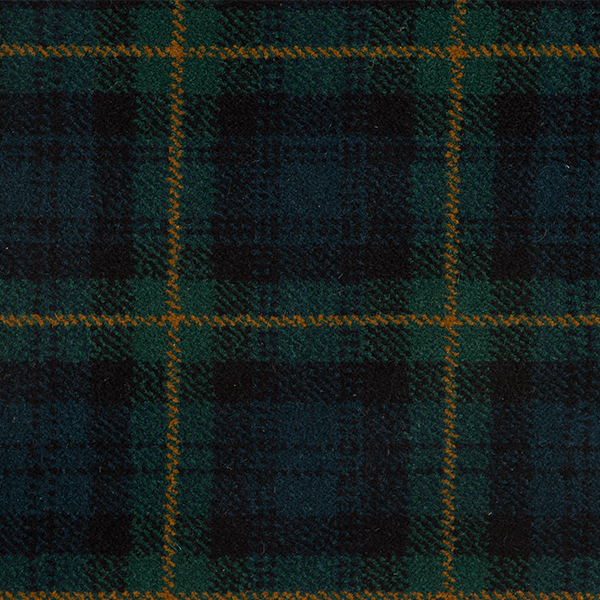 Tartan Carpet Gordon Regimental