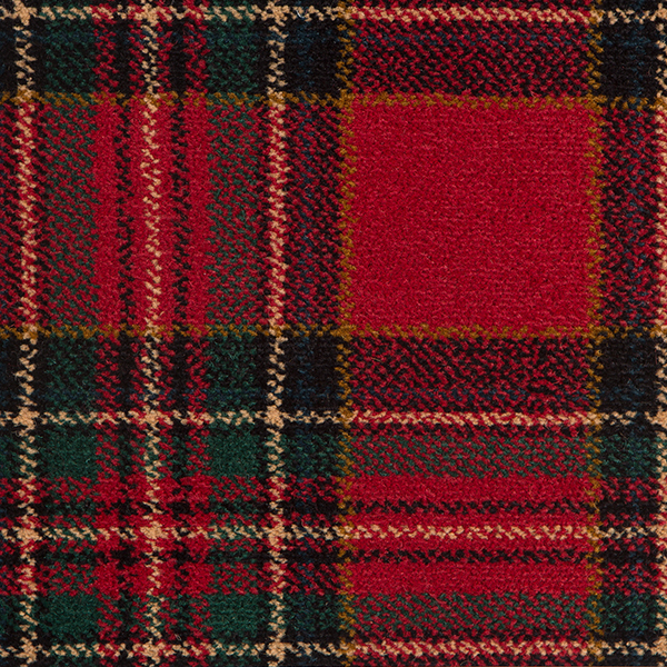 Tartan Carpet Royal Stewart
