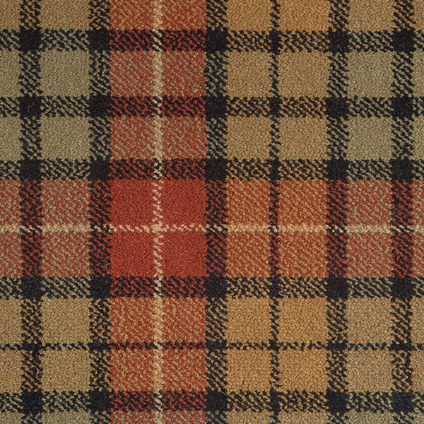 Tartan Carpet Weathered Buchanan