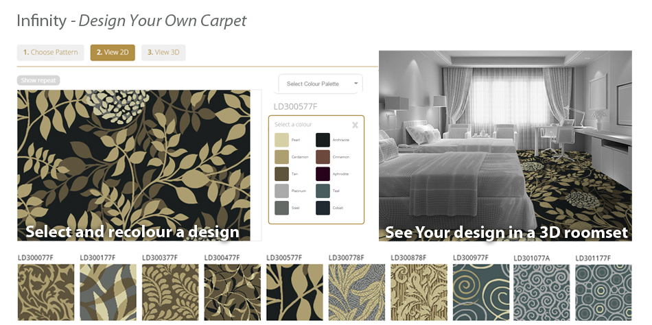 Infinity - Design your own carpet